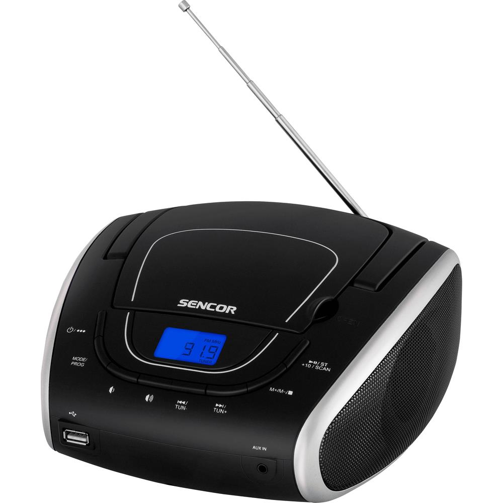 Rádio Sencor SPT 1600 BS s CD/MP3/USB