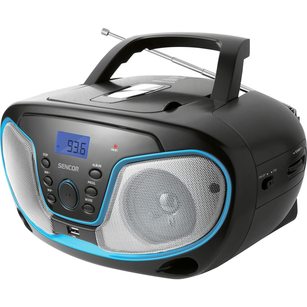 Rádio Sencor SPT 3310 s CD/MP3/USB/BT