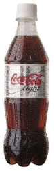 Nápoje Coca Cola  -  Coca Cola light / 0,5 l